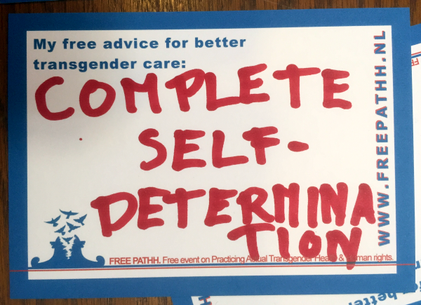 COMPLETE SELF-DETERMINATION