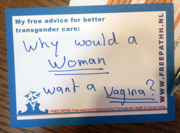 Why would a woman want a vagina?